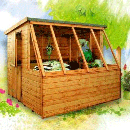 corner potting sheds - Garden Sheds Essex