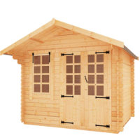 Appleby 19mm log cabin