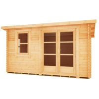 Belton 44mm log cabin