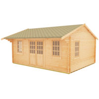 Dalton 44mm log cabin