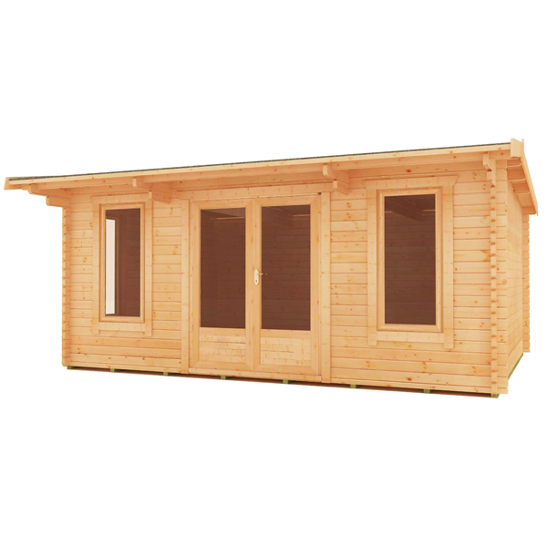 44mm log cabins