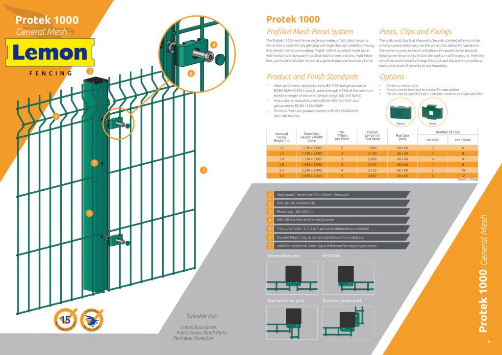 Lemon-fencing-Protek-1000