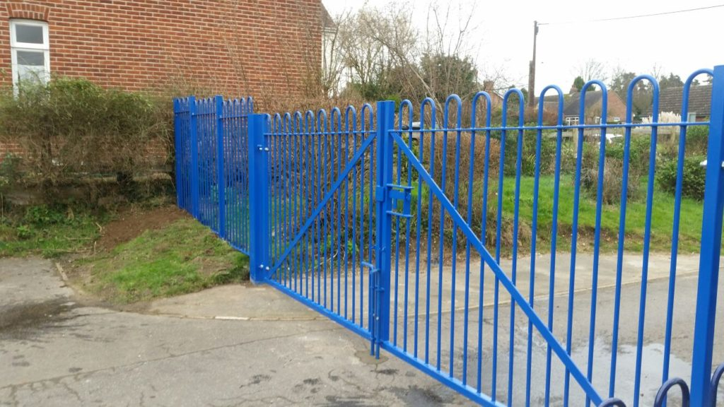 Security gates lemon fencing fencing in essex garden buildings sheds in essex - Most frequent fence materials ...