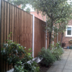 FEATHER EDGE FENCING BROWN
