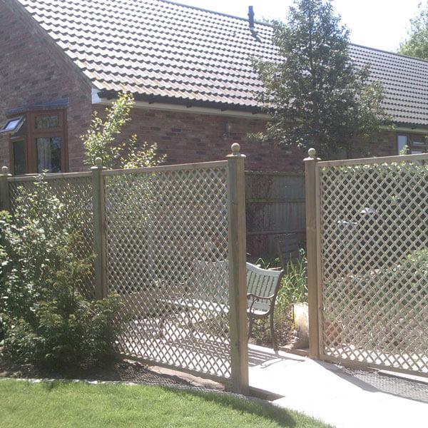 Lilleshall privacy lattice