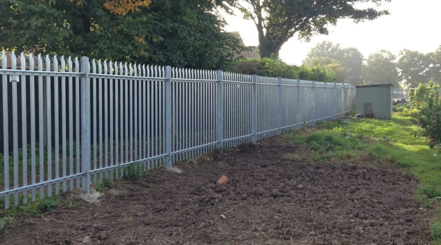 Triple pointed palisade galvanised (2)