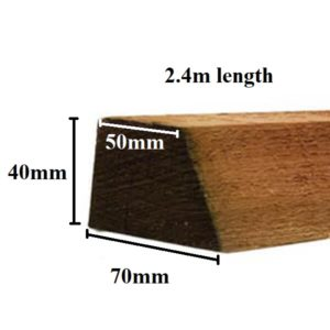 2.4m cant rail measurement