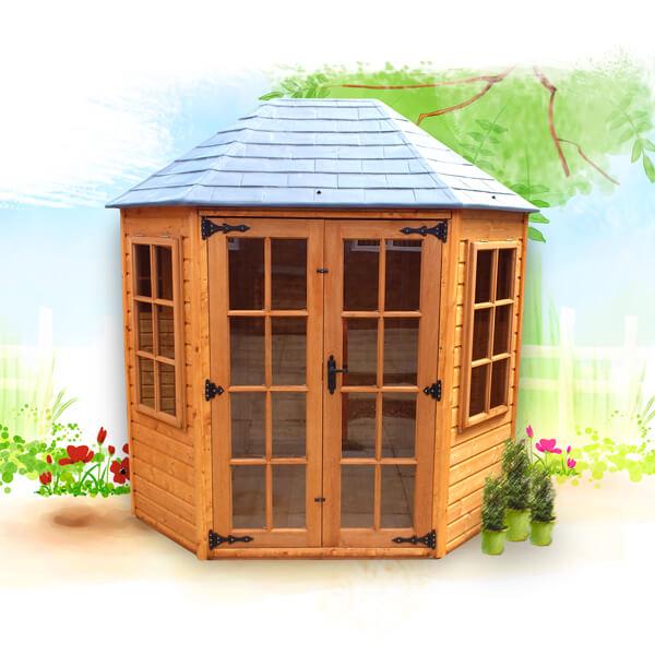 Oakdale summerhouse