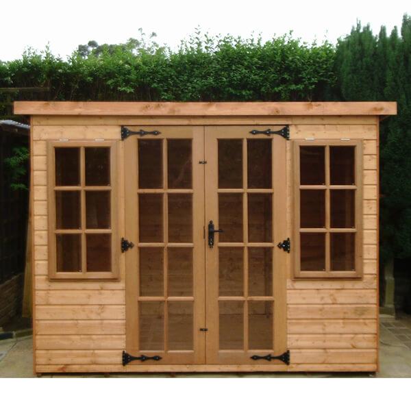 Farndon summerhouse
