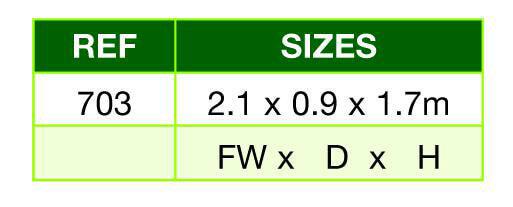 Apex bikestore measurement table