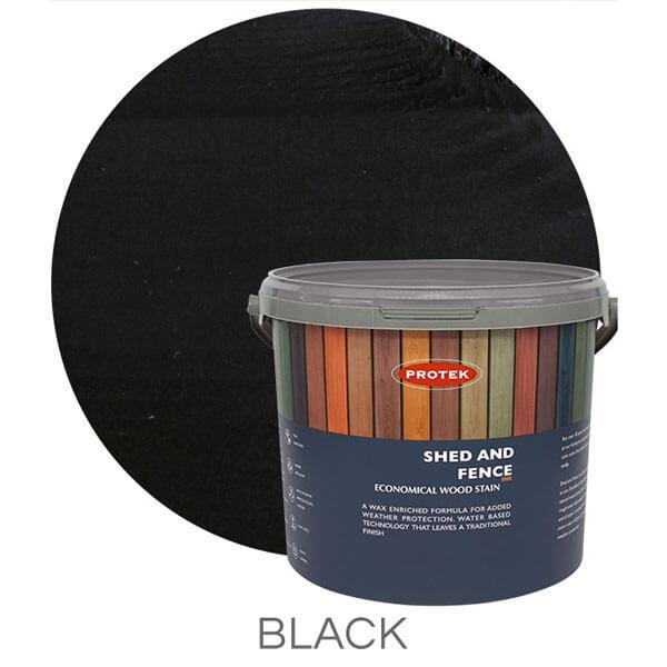 Black shed & fence treatment