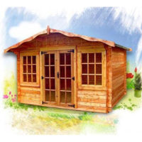 Charnwood 33mm log cabin