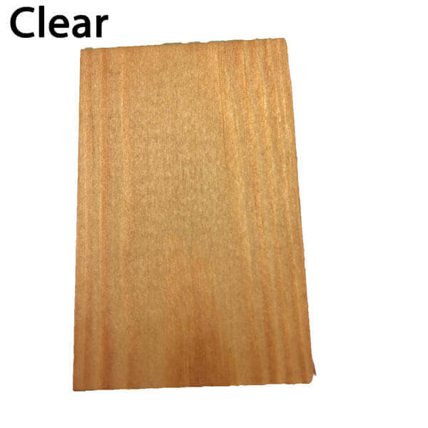 clear decking stain