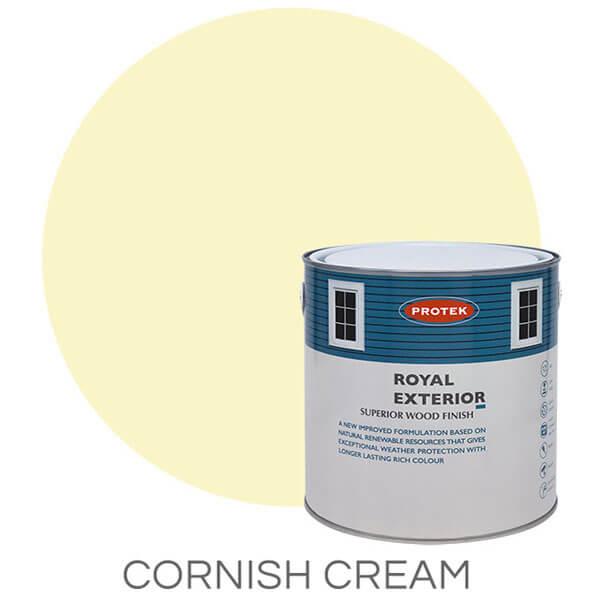 Cornish Cream royal exterior