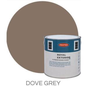 Dove grey royal exterior