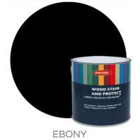 Ebony wood stain & protector