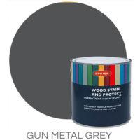 Gun metal grey wood stain & protector