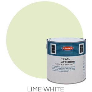Lime white royal exterior