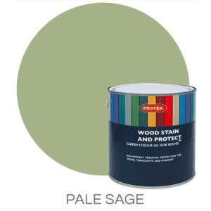 Pale sage wood stain & protector