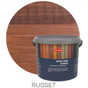 Russet shed & fence treatment
