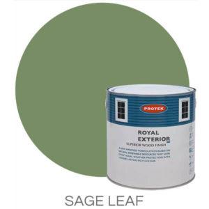 Sage leaf royal exterior