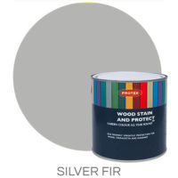 Silver fir wood stain & protector