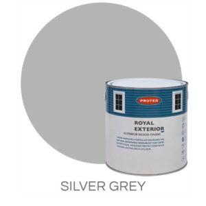 Silver grey royal exterior