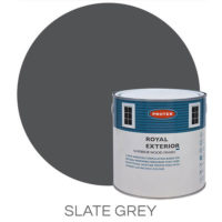 Slate grey royal exterior