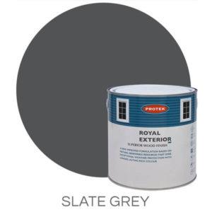 Slate grey royal exterior