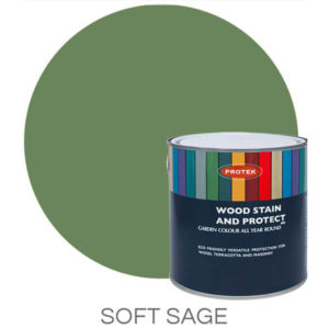 Soft sage wood stain & protector
