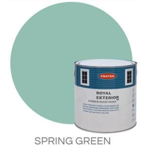 Spring green royal exterior