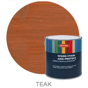 Teak wood stain & protector
