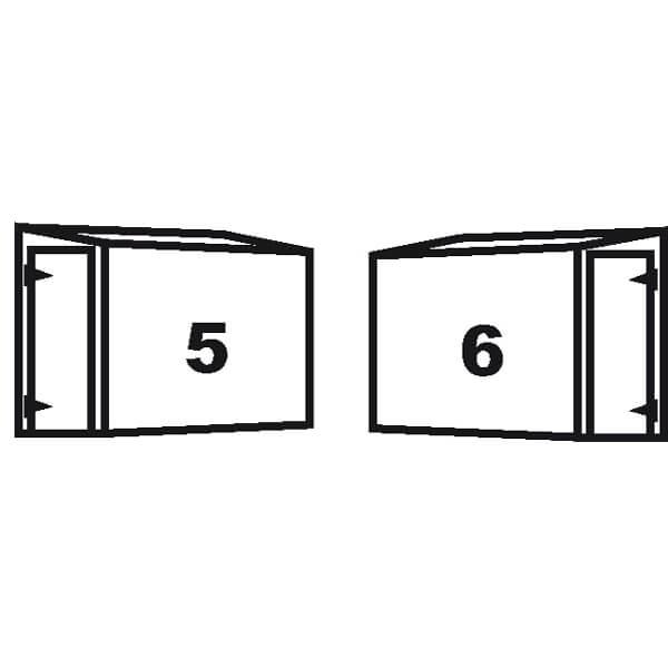 Wallshed doors