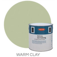 Warm clay royal exterior
