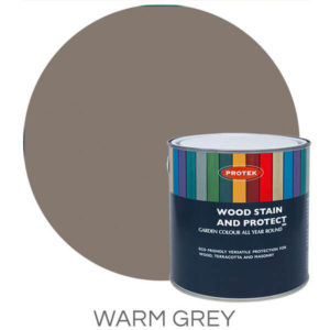 Warm grey wood stain & protector