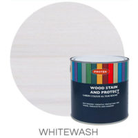 Whitewash wood stain & protector