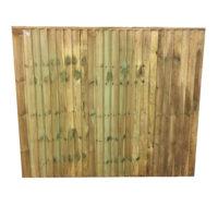 green feather edge panel 1.83 x 1.5
