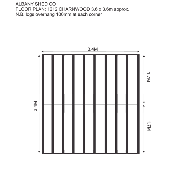 fpcharnwood1212 log cabin floor plan