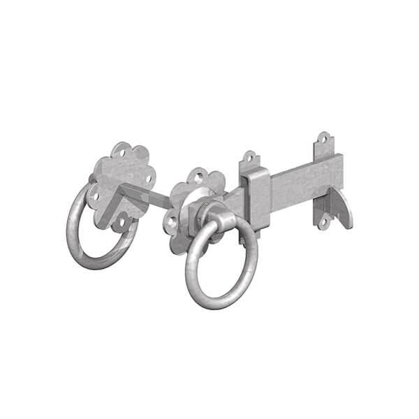 Gate ring latch