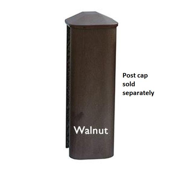 walnut composite post
