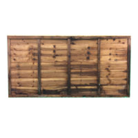 Waney lap panel 1.83 x 0.9m