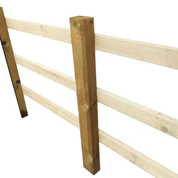 square edge post