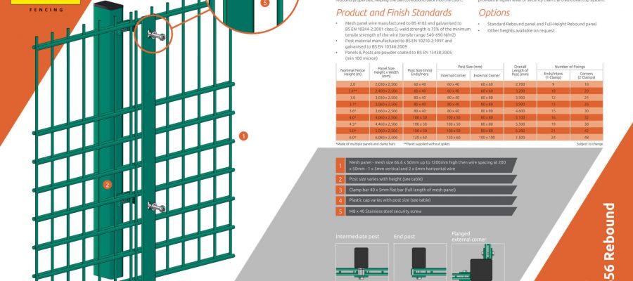 Protek rebound mesh 656