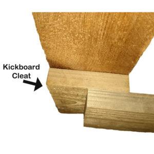 Kickboard cleat