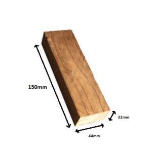 Kickboard block brown 150mm