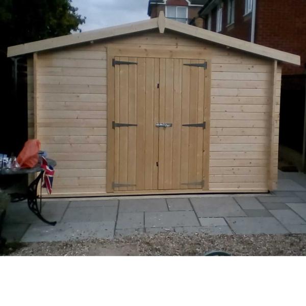 Charnwood shed log cabin