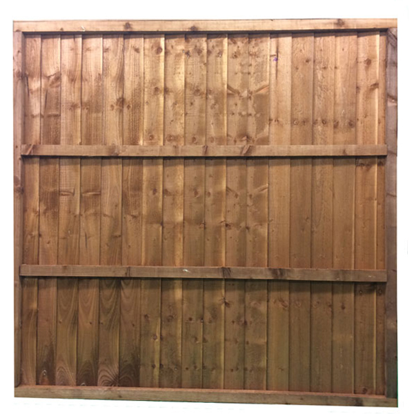 feather edge panel 1.83 x 1.8m