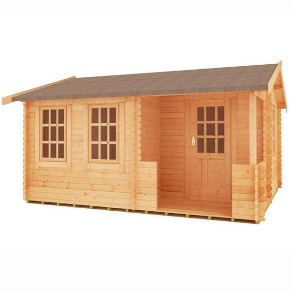 Gyles 44mm log cabin