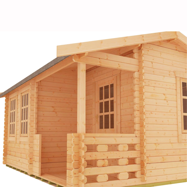 Gyles log cabin
