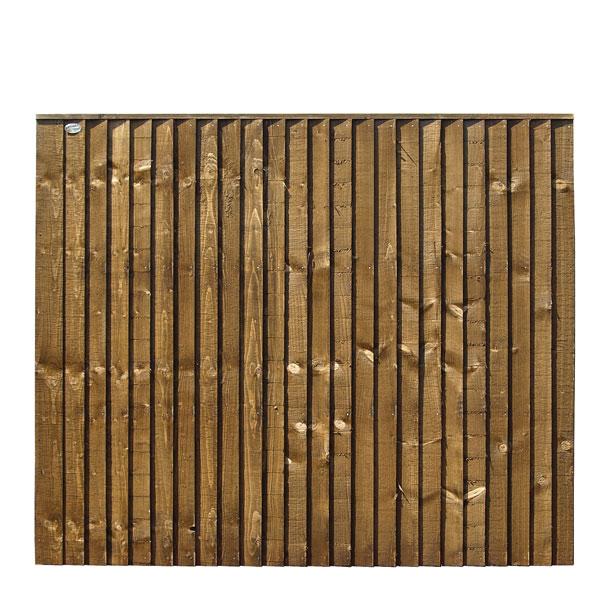 6x5 feather edge